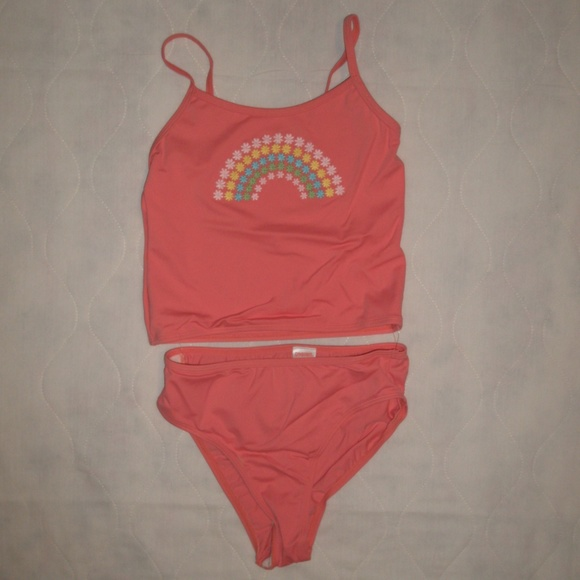 dd3de83806accf NWT Gymboree Happy Rainbow Tankini Swimsuit Sz 12